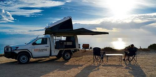 RedSands Double Cab 4 WD Camper
