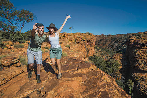 Kings Canyon Rim Walk ©Offroad Images